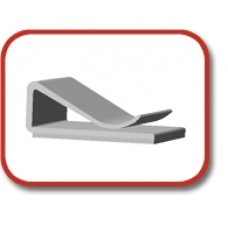 Flat cable clip (Series 151)